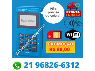 Máquina de cartão Point mini Chip (não precisa de celular)