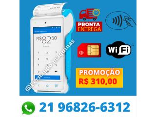 MAQUINA DE CARTÃO POINT SMART 4G (IMPRIME O COMPROVANTE