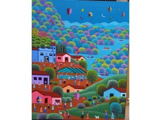 ROBSON BARROS ARTISTA NAIF