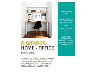 Vaga Home-Office (Trabalhe em Casa)