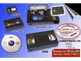 Passar VHS para DVD
