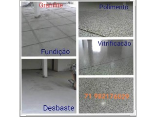 Piso Alta Resistência Granilite e Polimento de Pisos em Geral