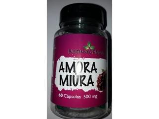 Amora Miura 500mg Frasco c/ 60 Cápsulas (100% Natural) - R$ 35,00 + valor do envio. Entregamos em todo Brasil
