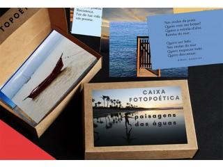 Presente criativo - Caixa Fotopoética - Linda opção de presente para emocionar quem você ama