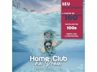 Home Club Barra Velha - Apartamentos na Praia