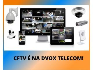 DVOX TELECOM CFTV, INFRAESTRUTURA DE REDE DE VOZ E DADOS, CENTRAL TELEFÔNICA, REESTRUTURA DE REDE DE VOZ E DADOS