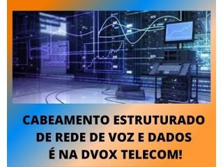 CFTV, CENTRAL TELEFONICA, CABEAMENTO ESTRUTURADO