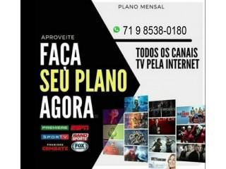 IPTV P2P CANAIS DE TV R$25,00 ZAP71985380180