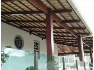 Telhados - Colonial - fibrocimento e galvanizado - Pequenos Telhados