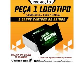 Promoção de Logotipo (Logomarca, Logo, marca)