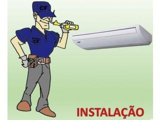 Instalação e manutenção do ar-condicionado