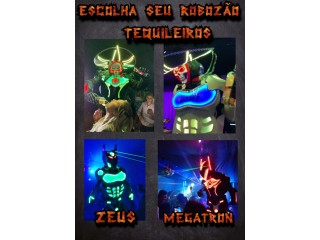 ROBO DE LED - ROBOZÃO DE LED