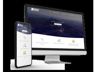Criação de sites premium - Foco em conversão