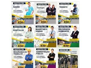 Curso Superior Sequencial de Curta Duração para todo brasil. 100% Ead. Inicio imediato.