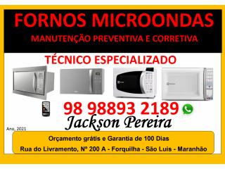 Microondas, Manutenção Preventiva e Corretiva em São Luís maranhão