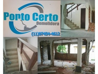 DEMOLIÇÃO DE CASAS EM DIADEMA