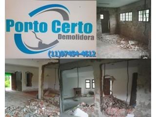 SERVIÇOS DE DEMOLIÇÃO DE CASAS EM ITAQUERA