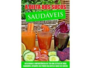 A dieta dos sucos saudáveis
