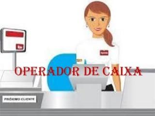 Operador de caixa de loja