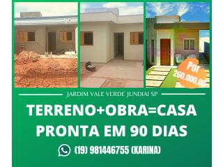 TERRENO+ OBRA