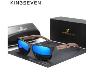 Kingseven óculos de Sol Masculino Polarizado, com dobradiça Reforçada (Frete Grátis)