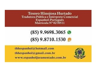 Tradutor Juramentado de Espanhol e Português
