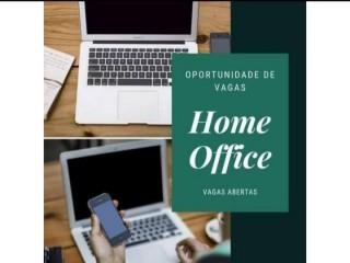 VAGAS ABERTAS PARA HOME OFFICE, TRABALHE DE CASA