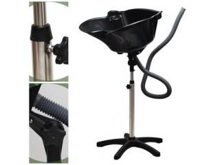 Lavatório portátil de cabeleireiro - cuba articulada