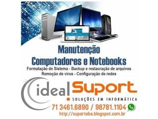 Formatação de Computadores/ Notebook salvador Bahia