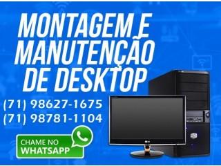 Assistência Técnica, Computadores, Manutenção e Formatação.