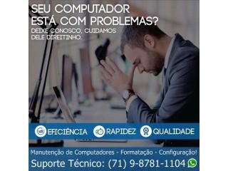 Informática Salvador Bahia, Computadores,(Manutenção)